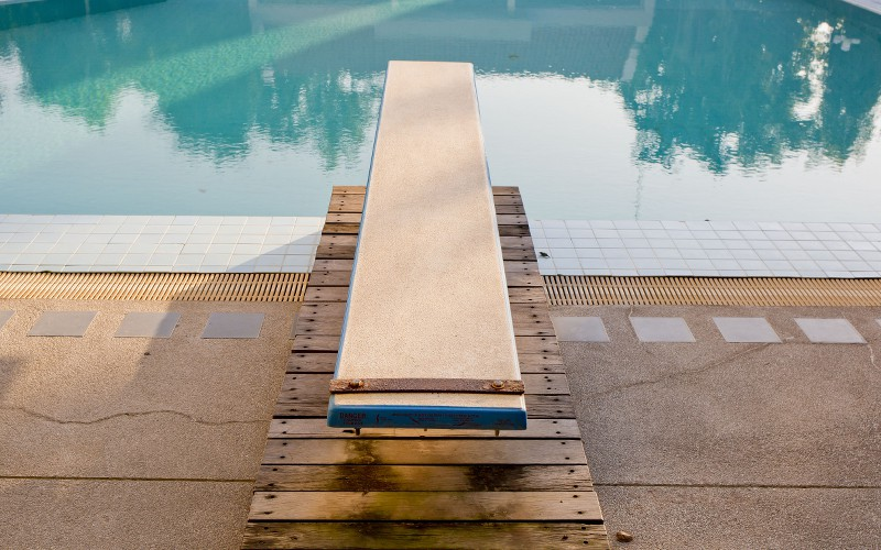 Diving Boards For Inground Pools Cost And Safety Pool