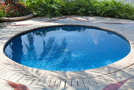 Small Semi Inground Pools http://www.poolpricer.com/small-inground-pools/