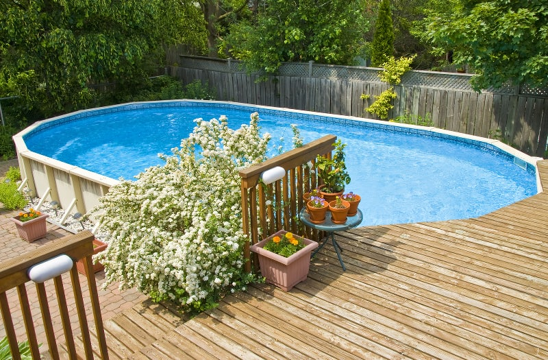 Above Ground Pools with Decks | Pool Pricer