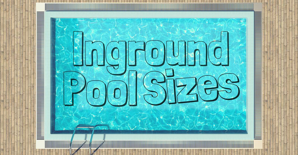 Olympic Size Swimming Pool Dimensions inground pool sizes: three questions to ask yourself