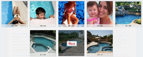 Example of pinning images