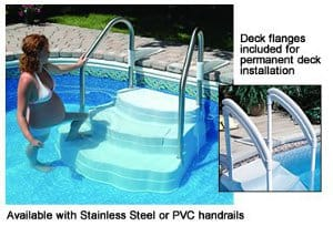 Inground Pool Steps For Safety Convenience And Style