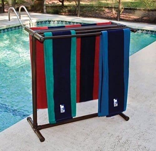 Outdoor Lamp Company Portable Towel Rack