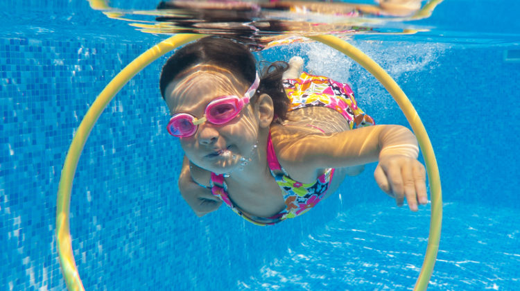Feature image for article on inground swimming pool depth