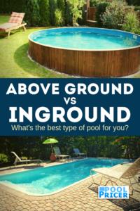 Above ground swimming pools vs inground swimming pools